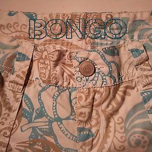 Bongo printed 4 pocket shorts. Size 9.